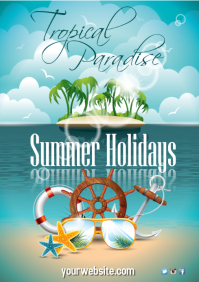Summer Holiday Poster