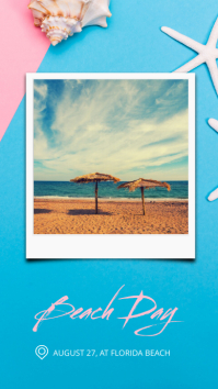 Summer Instagram Story Background template