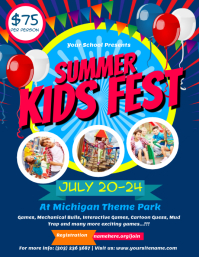 Summer Kids Fest Flyer Template