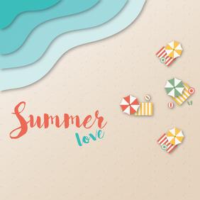 Summer love template