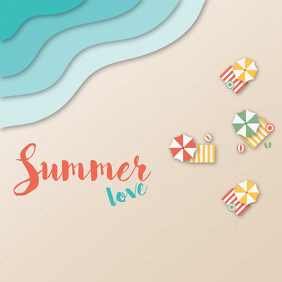 Summer love template