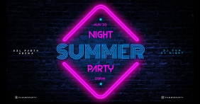SUMMER NIGHT BANNER