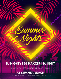 Summer Nights Flyer