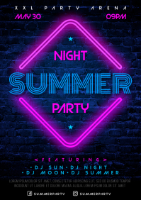 SUMMER NIGHT POSTER