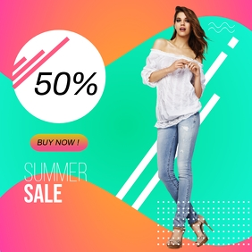SUMMER ONLINE AD TEMPLATE