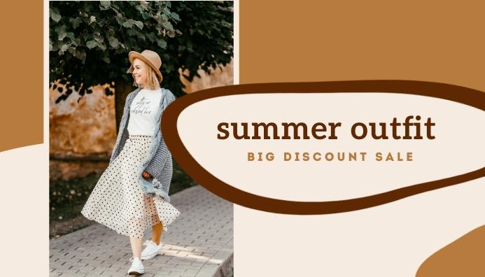 Summer Outfit Templates Header Blog