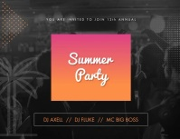 Summer Party Animated Invitation