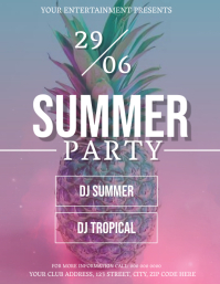 Summer Party Event Flyer Template