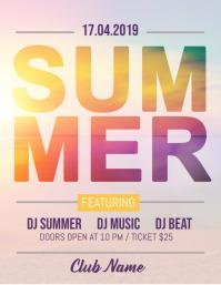 Summer Party Flyer, Hello Summer, Summer Beach Party
