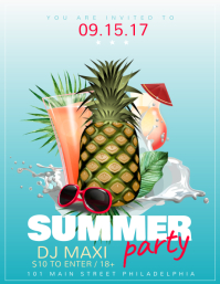 810 customizable design templates for summer party postermywall