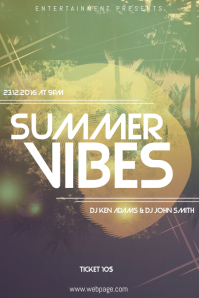 Summer Party Flyer Template