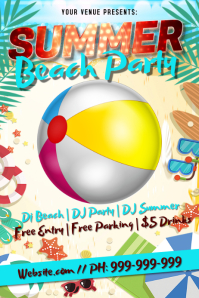 Summer Party Poster