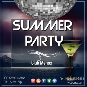 Summer Party Template