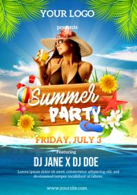 Summer Party Premium Flyer