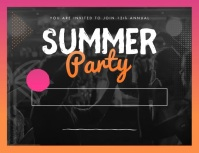 Summer Party Slideshow Flyer Iflaya (Incwadi ye-US) template