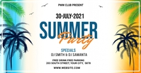 Summer Party Template for Facebook