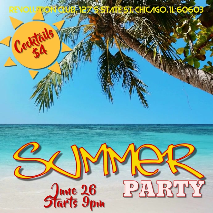 7 Best Philadelphia Flyers Themed Party Images On: Summer Party Video Template