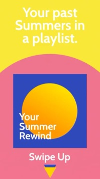Summer Playlist Instagram Story Template