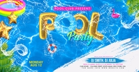 Summer Pool Party Reklama na Facebooka template