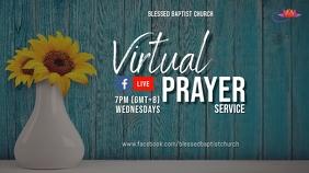 Summer Prayer Digital Display (16:9) template