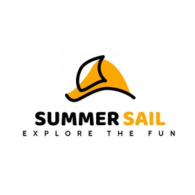 summer sail logo template