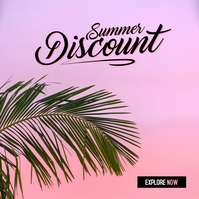 Summer Sale 2021 Portada de Álbum template