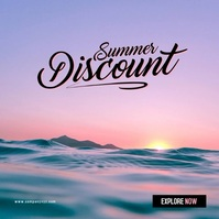 Summer Sale 2021 Albumcover template