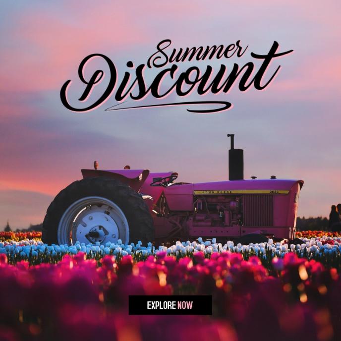 Summer Sale 2021 Album Cover template