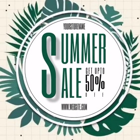 SUMMER SALE AD REMPLATE