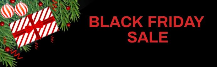 Black Friday Sale Foto Sampul Karier LinkedIn template