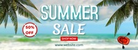 SUMMER SALE Facebook Cover Photo template