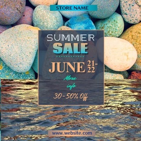 Summer Sale Digital Ad