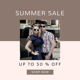 Summer Sale Discount Template