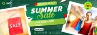 Summer Sale Facebook Cover Zdjęcie w tle na Facebooka template