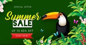 Summer Sale Facebook Image Post