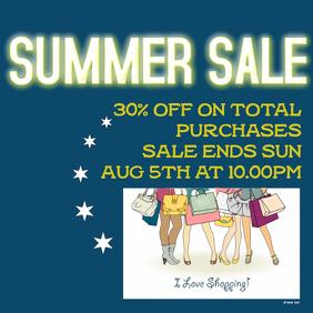 Summer Sale fb ad