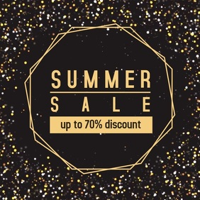 Summer sale instagram