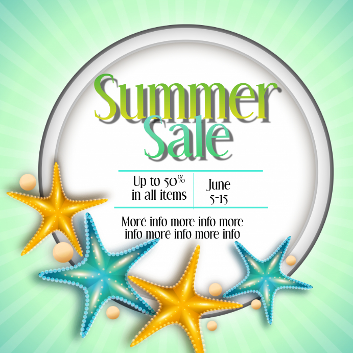 Summer Sale Instagram Post