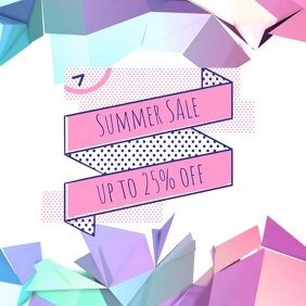 summer sale instagram post video