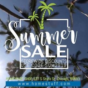 Summer Sale Instagram Video Template