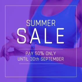 Summer Sale Offer