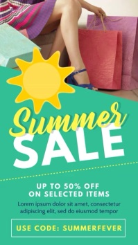 Summer Sale Promotion Video Template