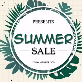 SUMMER SALE SOCIAL MEDIA TEMPLATE