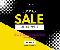 Summer Sale Template Medium na Rektangle