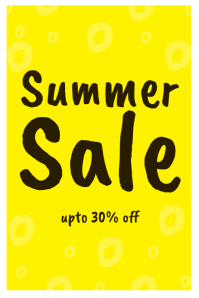 summer sale template