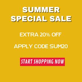 Summer Sale Template
