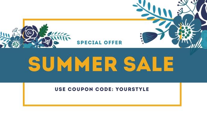 Summer Sale Templates 标记