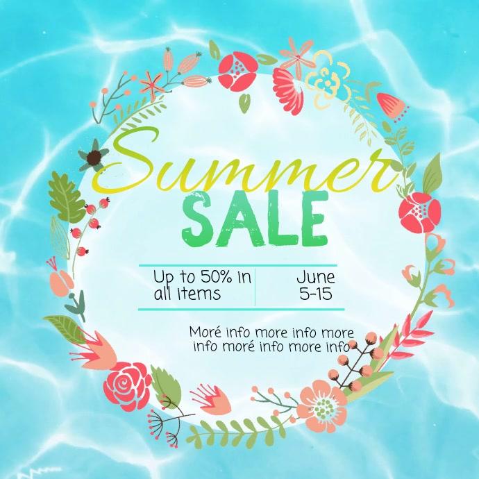 Summer Sale video