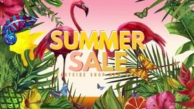 Summer Sale Video Flowers Butterfly Lawn Shop Sun Flamingo