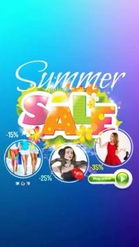 Summer Sale Video Template